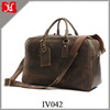 Men Leather Travel Bags tote Luggage Duffle Bag casual weekend Bag