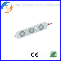 China factory direct sale outdoor high power smd5730 12v injection led module for advertising 68*15 lens module