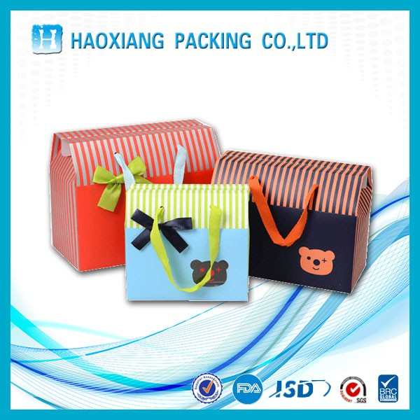 Sunglasses packaging boxes Kraft paper bag paper gift bag gift plastic bag