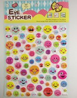 3d foam eva googly eye smile face puffy sticker for promotion