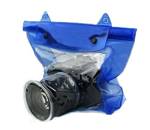 Waterproof Underwater Housing Case Pouch Dry Bag for dslr slr camera