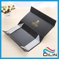 Folding cosmetics magnetic boxes cardboard packaging gift paper box with magnet