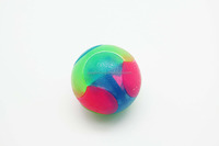 Flashing Light Dog Rubber TPR Ball Toys