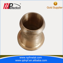 China supplier thread male and female brass bushings