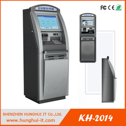cash dispenser bank machine with printer&credit card reader