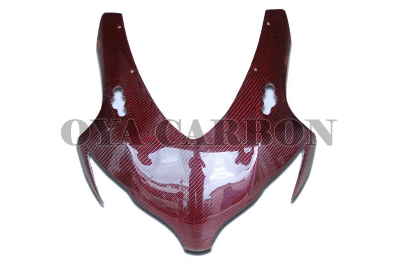 Carbon Fiber red color for honda cbr1000rr Front Fairing