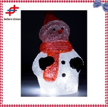 30 LED Christmas decoration 3D Acrylic snowman