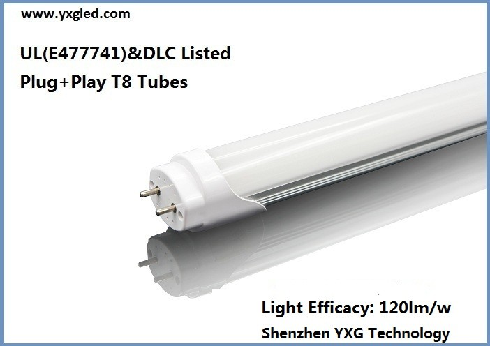 2015 LED High Quality Light Plug+Play 4000K 1.2M T8 Tubes 18W 4ft pse japan hot jizz tube with CE FCC ROHS UL DLC ETL Approvals