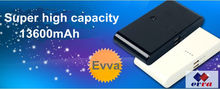 Portable mobile power bank 13600mAh iPhone/iPad power bank high capacity for smartphone