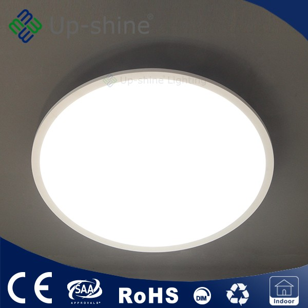 300mm Round Pendant led panel light 18W triac dimmable CE TUV approved Suspending/Surface mounted/Recessed installation