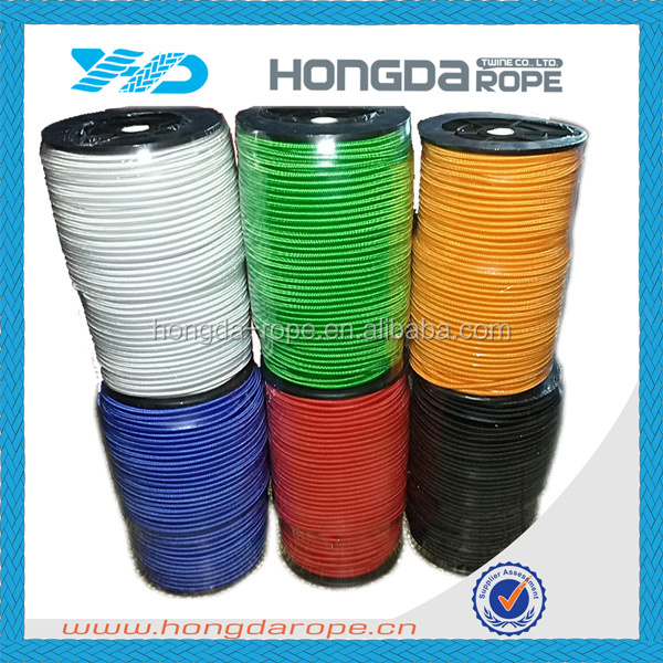 bungee elastic cord, bungee rubber cord 10 mm, elastic rope 8 mm in plastic spool