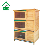 Hotsale New style 3 story rabbit hutches