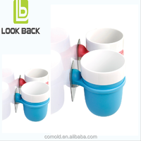 2016 Look Back New Design Products Toothbrush Tumbler Holder Assessories For Bathroom