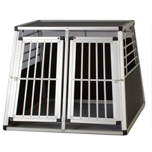 all sizes Double door traveling Foldable aluminium dog house