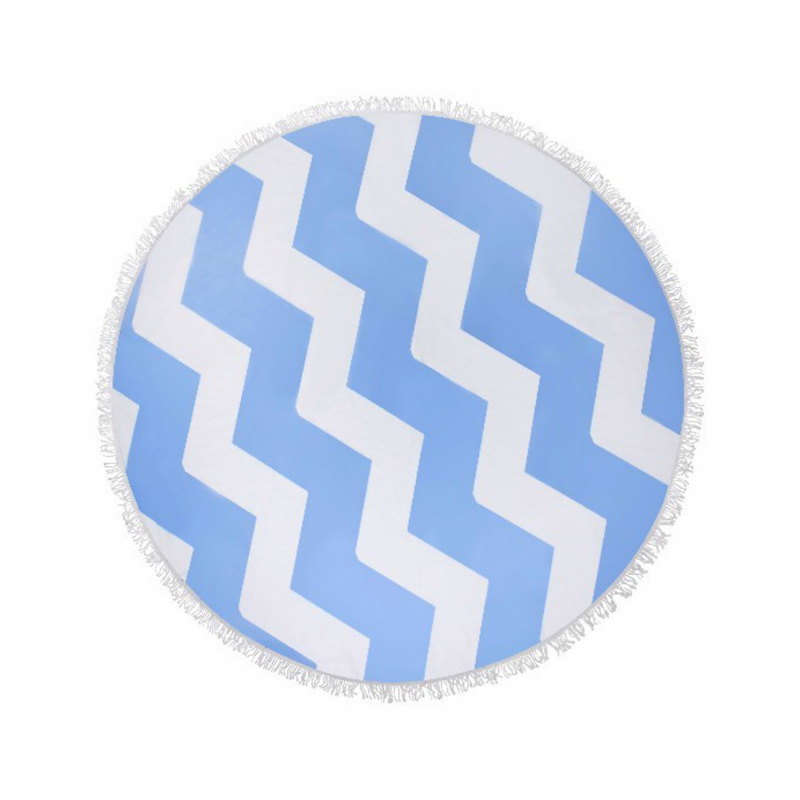100% polyester round beach towel wholesale / 100% polyester round beach towels / 150cm round cotton beach towel