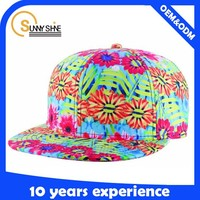 Sunny Shine fashion custom 6 panel colorful folding sun hat wholesale china