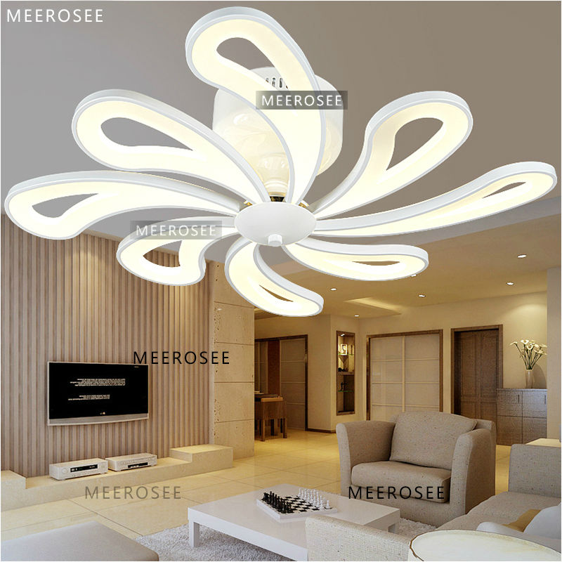 Modern Style White Acrylic LED Ceiling Light MD3162