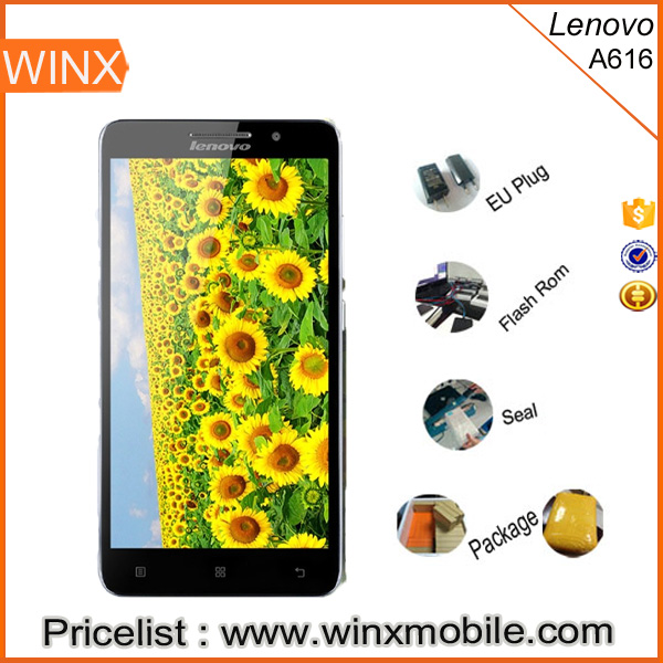 "Cheap price Original Lenovo A616 Android 4.4 5.5""IPS 4G FDD LTE Lenovo Smart Phone"