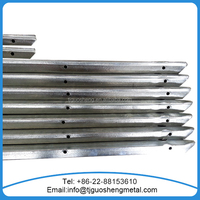 Hot dipped Galvanized European T post