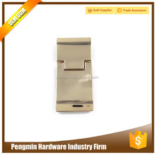 Fancy wholesale tow parts zinc alloy mini magnetic lock for bags