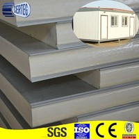 Prefabricated house used SIP panel/polyurethanes sandwich panel/PU sandwich panel for wall and roof