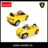 Rastar children toys rechargeable battery ride on car with kids songs