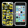 Popular cartoon despicable me minion plastic case for iphone 5c sublimation phone case