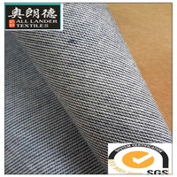 low price blue and white stripe denim fabric 100% cotton fabric