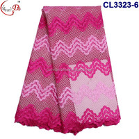 CL3323-6 Many colors french lace beautiful designs for women dress with cheap price