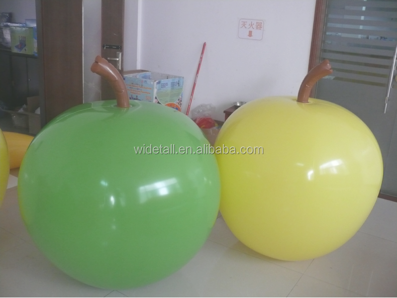 pvc sweet apples models /cheapest inflatable apple shape model