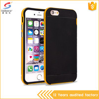 High Quality Design Anti-Scratch Design Ultra Slim TPU PC Case For Iphone 6