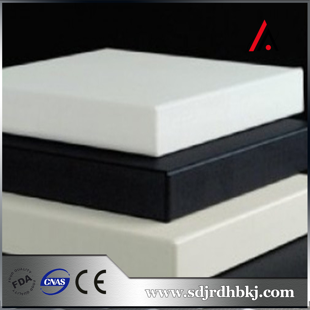 high-quality Not easy to bend white hdpe plastic