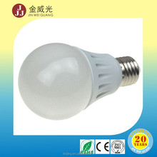 CE ROHS approved 100lm/w 3w to 12w e27 led bulb