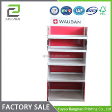 made in China Popular custom printed corrugated cardboard display stand