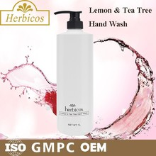 Lemon & tea tree hand sanitizer from china
