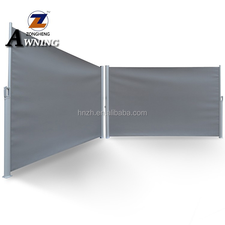 Steel Cassette Retractable Awning Manual PU Coated