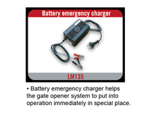 solar system emergency battery charger