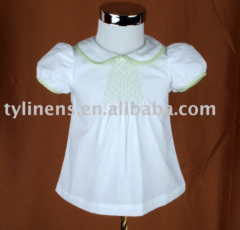 Smocking Girl's Top