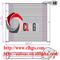 factory air conditioner evaporator for toyota HIACE/HILUX 06'/RAV 4 08'