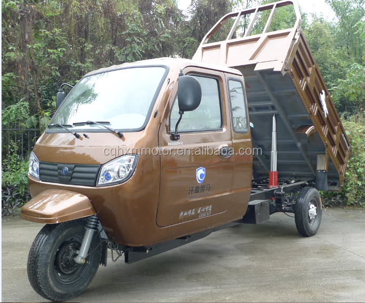 hot sale 3 wheelers for cargo delivery with closed cabin