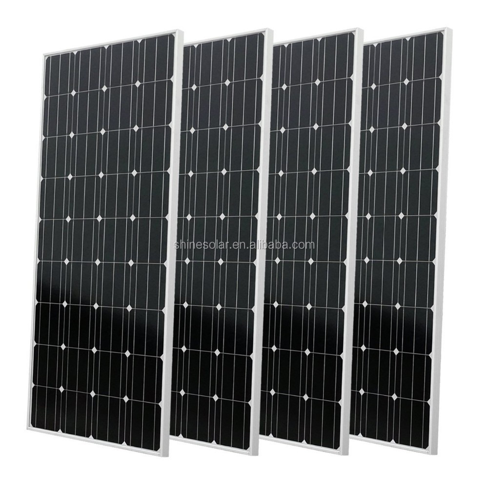 Monocrystalline pv module 150w mono solar panel for solar power system home