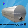 The waste engine oil recycling equipment without catalyst requirement