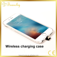 kim China Supply factory directly qi wireless charger receiver phone case for iphone 6