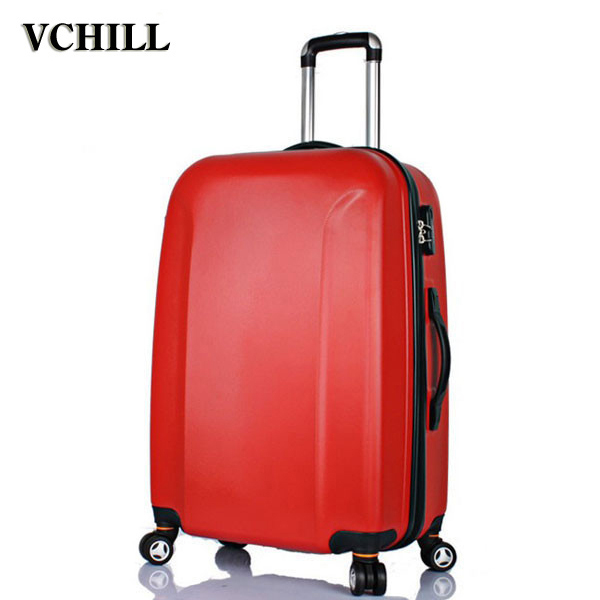 Hot New Products plastic 4 pcs set spinner suitcase For holiday on sale