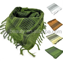 Outdoor Military Scarfs Headchief Hunting Kerchief Tactical Army Veil Arabic Shemagh Scarf