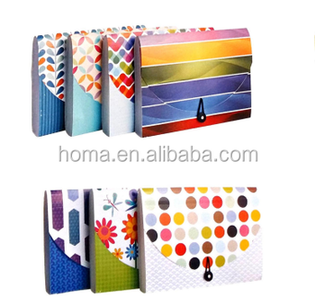 Waterproof pp zipper file folder Bag