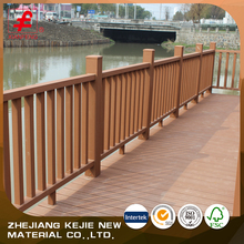 cheap wpc garden railing wood decorative outdoor handrails
