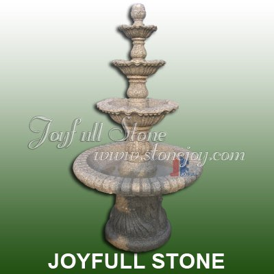 4 Tiers Granite Fountains for sale