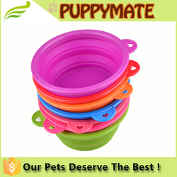 Wholesale Dog Bowl Collapsible Pet Bowl / Travel Bowl Water Feeder / Dog Portable Bowl