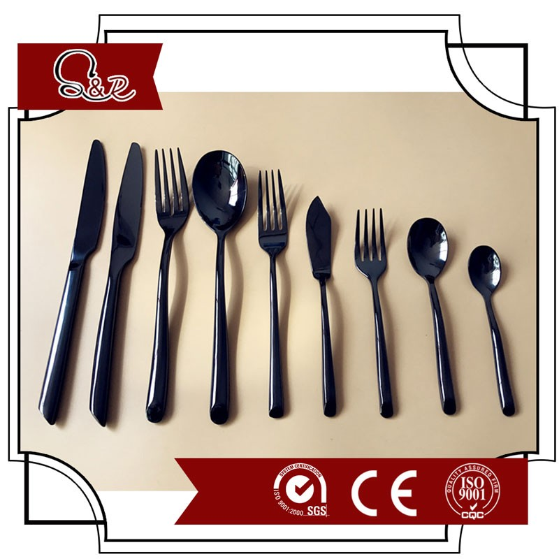 Cheap stainless steel spoon knife forks flatware sets cutlery set tableware set